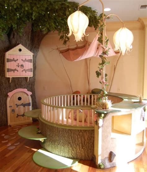 10 whimsical fairy tale inspired girls room decor ideas 26 round baby crib designs for a colorful and cozy nursery