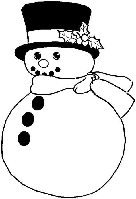 christmas coloring pages snowman az coloring pages