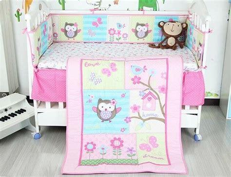 owl nursery bedding sets baby nursery 8p crib bedding set lovely owl butterfly winter gift ebay