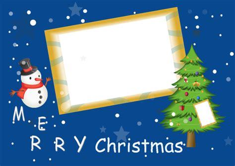 Chrismas Business Card Template by Single Photo Card Free Single Photo