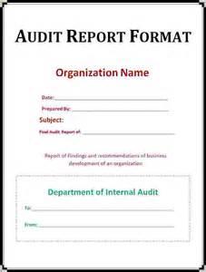 Internal Audit Report Templates Internal Audit Report Template Audit Report Template Jpg