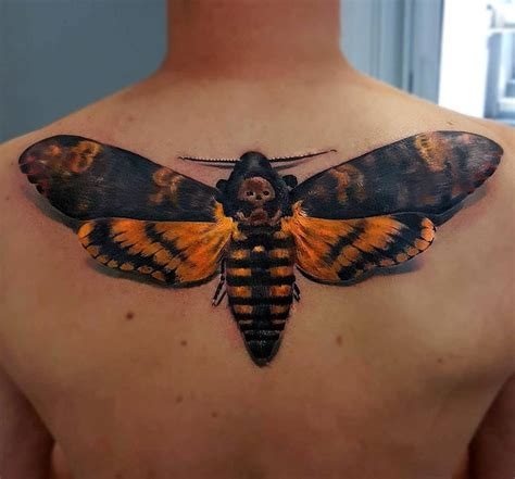 large s hawkmoth on guys back best