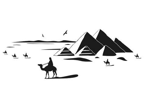 wandtattoo 196 gypten pyramiden landschaft wandtattoos de