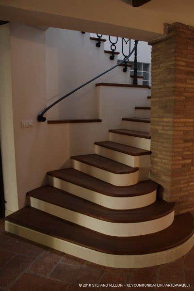 scale rivestite in legno scale su muratura in legno