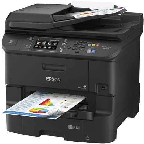 Printer All In One Epson Pro Workforce Wp 4590 epson workforce pro wf 6530 all in one inkjet printer