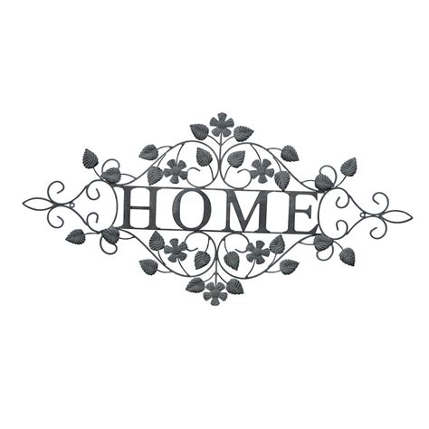 three hands home decor three hands metal home wall decor 70999 the home depot