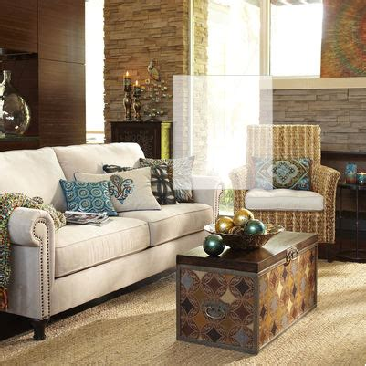 pier one tables living room alton sofa ecru from pier 1 shopping pinterest