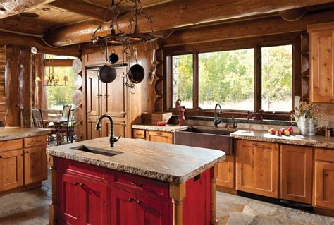 jackson wy handcrafted log home by precisioncraft
