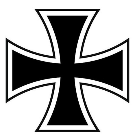 printable iron cross stencil autoaufkleber sticker deutschland eisernes kreuz