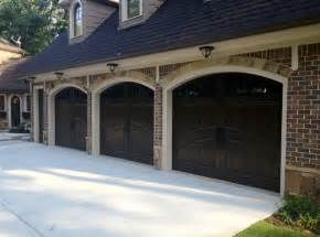 Distressed Wood Bathroom Cabinet Masterpiece Garage Doors Traditional Garage And Shed