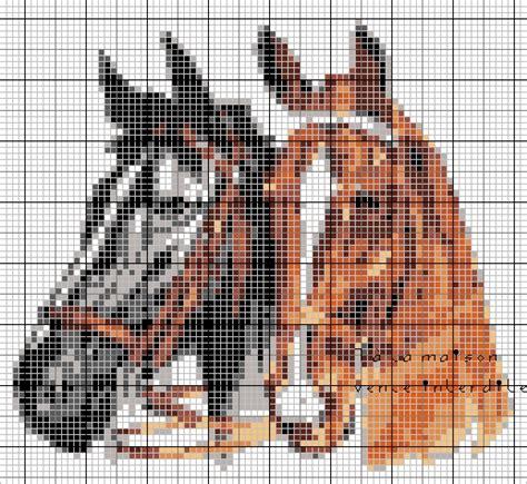 Grille Tricot Cheval grille gratuite chevaux le de 7 224 la maison