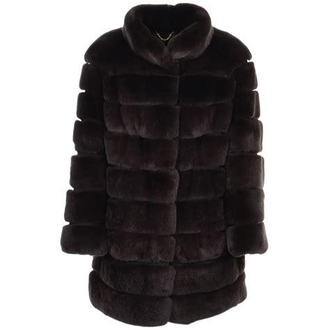 Rex Coat rex rabbit fur coat brown danier