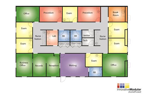 clinic floor plan available modular buildings for sale or lease