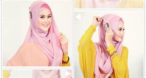image design selendang yang terbaru 2015 cara pakai jilbab segi empat modern terbaru yang simple