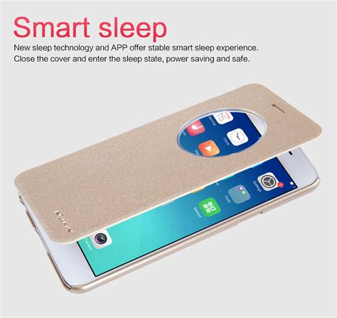Oppo F1s A59 F1 oppo f1 a35 nillkin pu leather flip cover for oppo f1s a59
