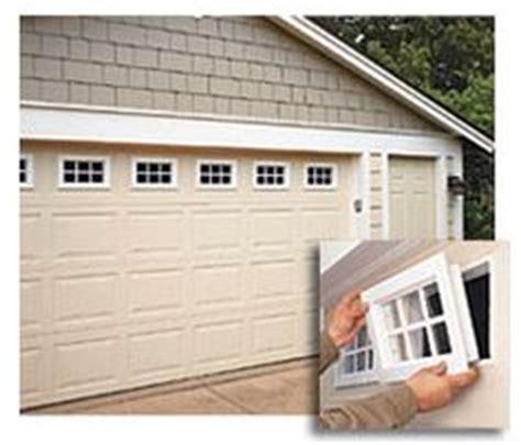 Clopay Window Insert Short Panel Colonial 4 Piece Set 18 Add Windows To Garage Door