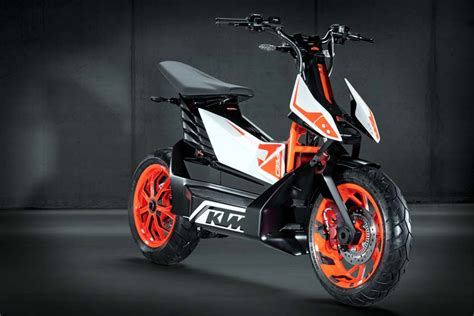 Electric Ktm Motorcycle Ktm E Speed Electric Scooter Concept Revealed In Tokyo