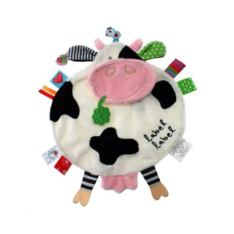 comforter toy for baby label label friends comfort tag baby activity toy