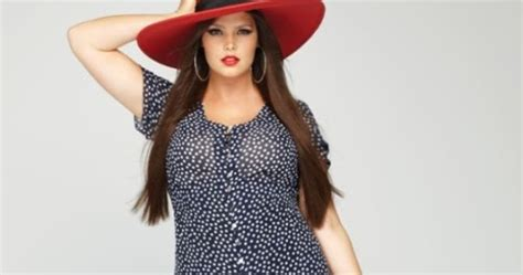 Bekasi Dress Ramona By Eq plus size model candice huffine pictures