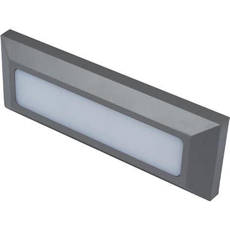 robus rtw0330rg 24 twilight 3 watt rectangular led wall light