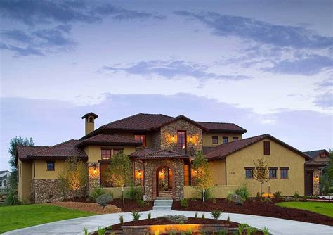 tuscany house tuscan plans architectural designs