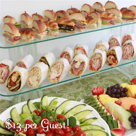 Catering For Lunch luncheon catering for showers and corporate lunches in nj catering showers