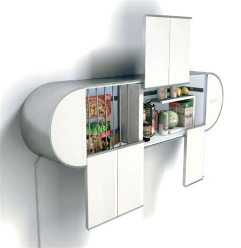 Smart Kitchen Ideas stylishly cool food storage unit for all you trendy goodies
