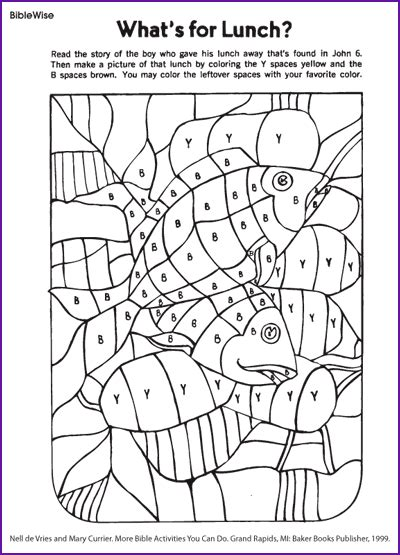 bible coloring pages fish free coloring pages of jesus fish and loaves