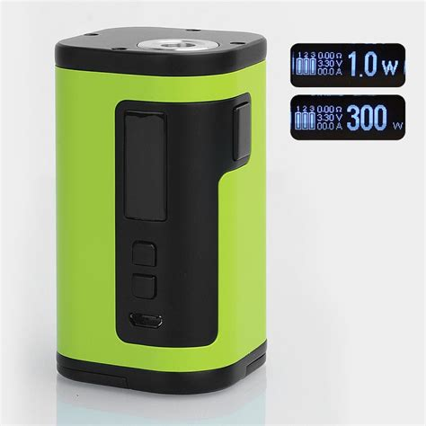 Eleaf Istick Tria 300w Mod Only Vaporizer Authentic authentic eleaf istick tria 300w greenery tc vw variable wattage mod