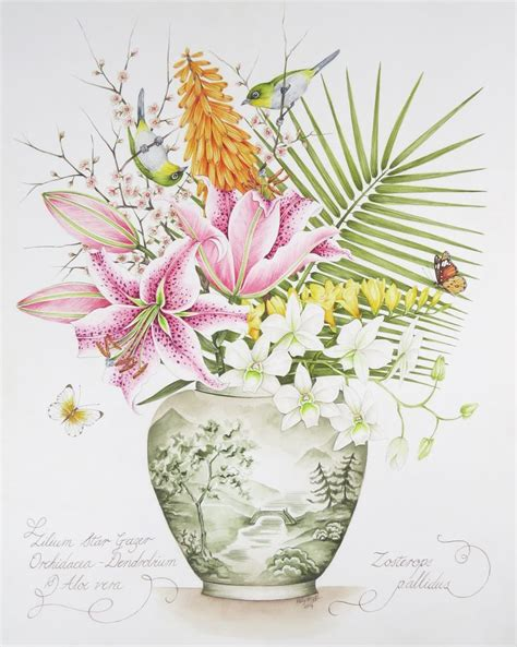 libro botanical painting in gouache 17 best images about kelly higgs original paintings on limited edition prints delft