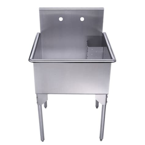stainless steel utility sink 10 easy pieces outdoor work sinks gardenista