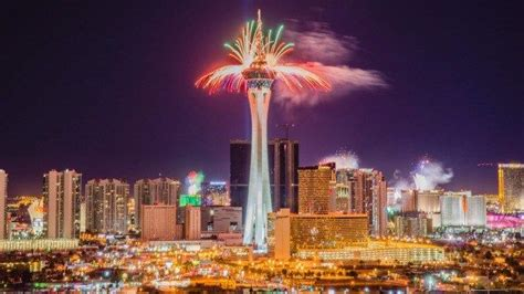 new year vegas 2016 best places to new years 2016 and fireworks in