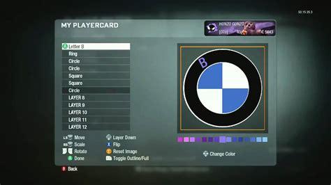 Max Bmw Ct by Black Ops Emblem Tutorials Bmw Logo Edition