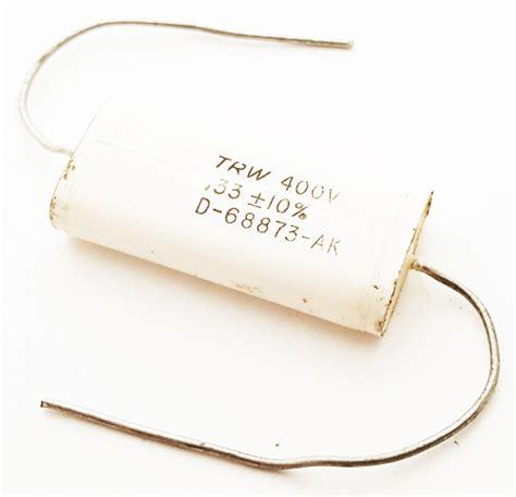 33uf 400v 0 33uf 33 uf 400v 10 axial polyester capacitor