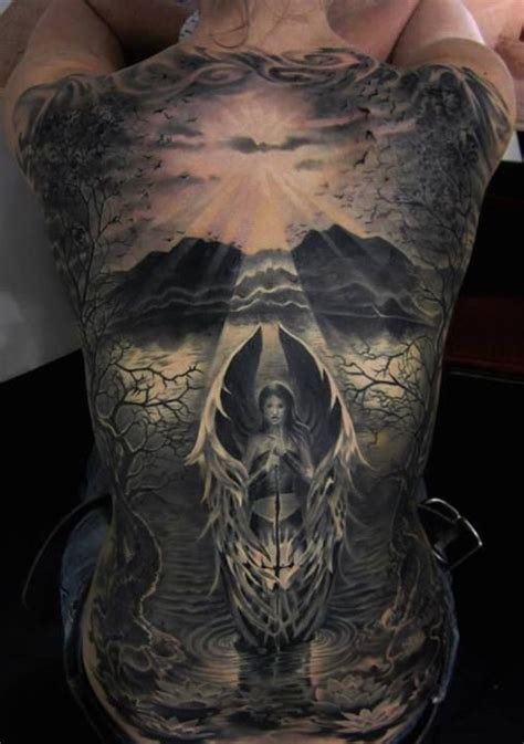 scenery tattoos and scenery