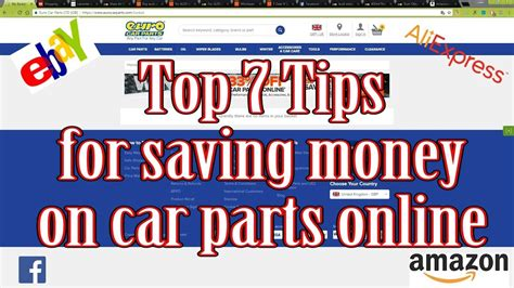 Top 7 Tips For by Top 7 Tips For Buying Car Parts