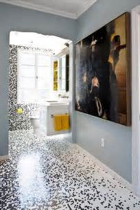 ideas mosaic wall: pixilated bathroom design made with custom mosaic tile digsdigs