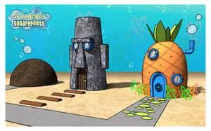 spongebobs haus spongebob s house in 3d by azeta on deviantart