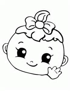 cute human baby coloring pages galleryhip hippest galleries