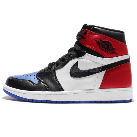 Nike Air 1 Retro 4 Color nike air 1 retro high og top 3 blue black white