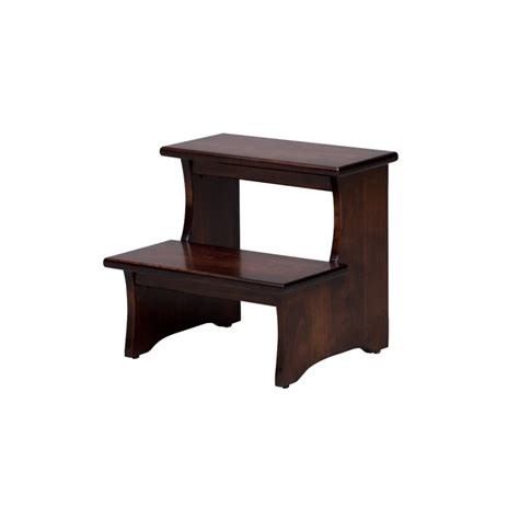 Shaker Stool by Shaker Step Stool Amish Made Mantel Shelf Country