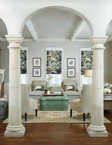 living room columns creative ways on how to add columns to your home interior design ideas