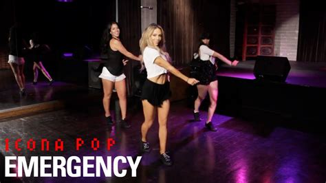 tutorial dance mandy jiroux icona pop emergency dance tutorial youtube