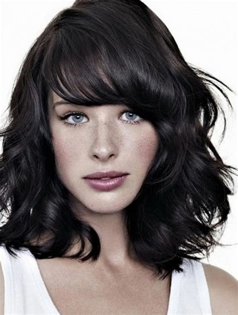 top 10 layered hairstyles for shoulder length hair front