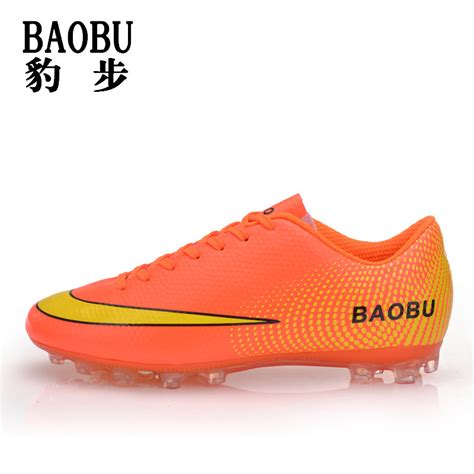 artificial turf football shoes boys sneakers mens nail soccer shoes artificial