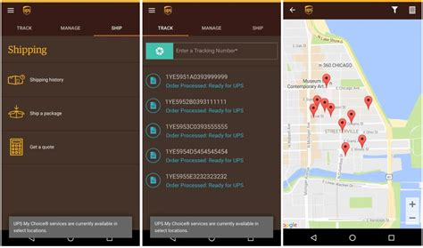 ups tracking mobile ups tracking track packages schedule delivery more