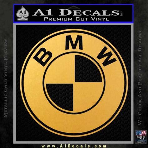 bmw emblem stickers bmw official emblem decal sticker 187 a1 decals