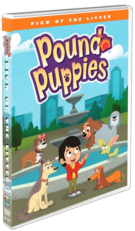 puppy pals dvd pound puppies of the litter dvd giveaway family choice awards