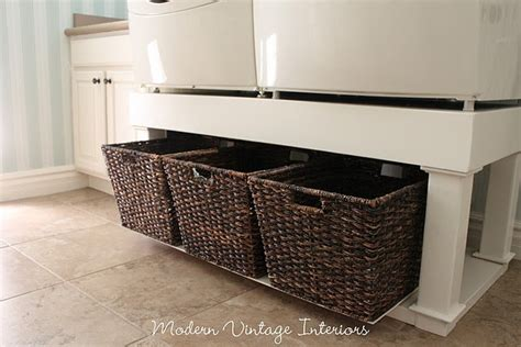 Diy Laundry Pedestal With Drawers by Laundry Room Someday For The Home The