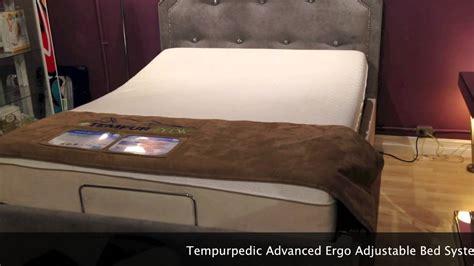 tempur pedic advanced ergo system mattress